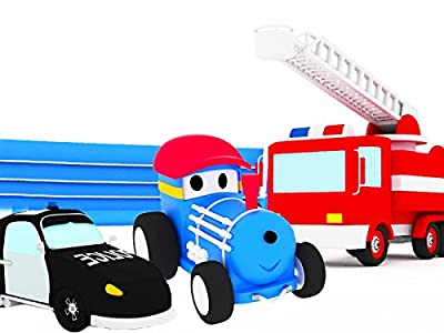 Learn with Ted The Train : The Police Car / the Fire Truck