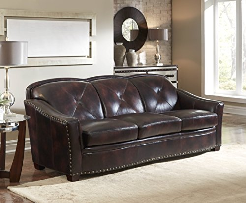 Lazzaro Leather WH-1436-30-9011B Lucinda Sofa