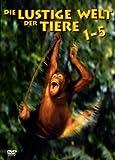 Die lustige Welt der Tiere 1-5 [5 DVDs]
