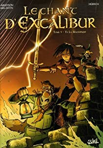 """Afficher """"Le chant d'Excalibur n° 5<br /> Ys la magnifique"""""""