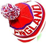 England Soccer Hat Pom Pom