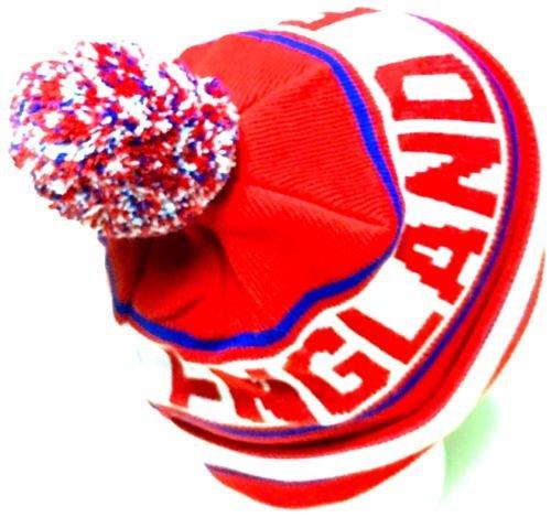 England Soccer Hat Pom Pom by Simpsonsfootball