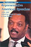 Representative American Speeches 1998-1999, , 0824209672
