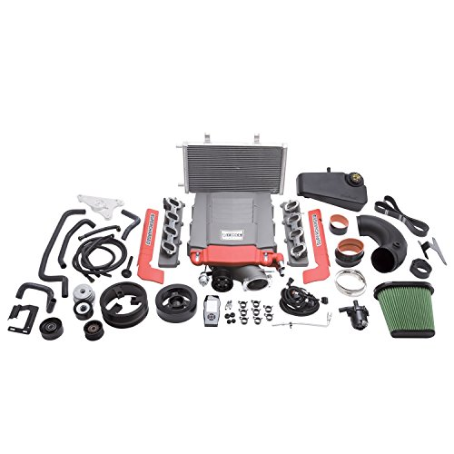 Edelbrock 15711 E-Force Competition Supercharger Kit Complete Track System Stage 2 Track Kit w/Tuner Base Model w/Wet Sump E-Force Competition Supercharger Kit