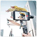 CINEPEER Phone Gimbal, 3-Axis Gimbal Stabilizer for iPhone 12/11/X/XS, Samsung Android Phone, ZY Play App Support…