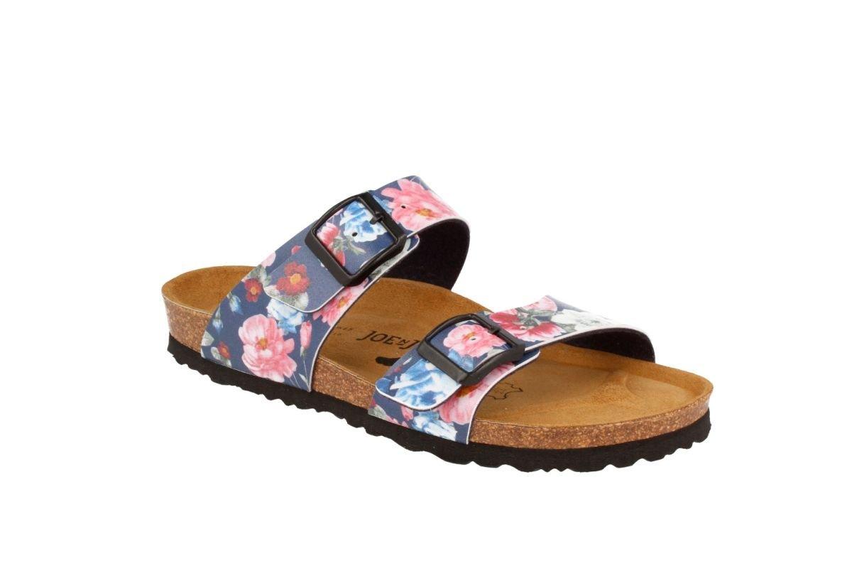 JOE N JOYCE Sevilla SynSoft Soft-Footbed Sandals B072MYYBR7 42 EU (11 N US Women/9 N US Men)|Rose Blue Softbedded