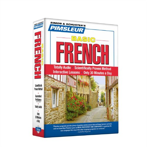 Pimsleur French Basic Course - Level 1 Lessons 1-10 CD: Learn to Speak and Understand French with Pimsleur Language - Audio French Learn