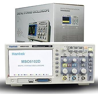 Mso5102d hantek oscilloscope: digital | tme electronic components.