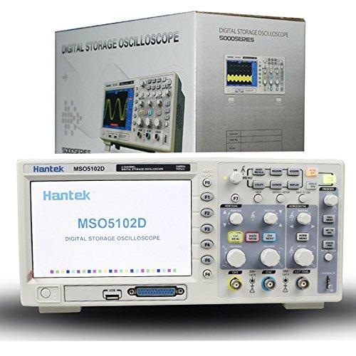 Mso5102d hantek 100mhz mixed signal digital oscilloscope 16.