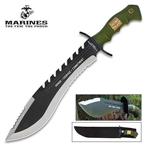 United Cutlery UC3011 USMC Kukri Machete with - Knives Machete Kukri