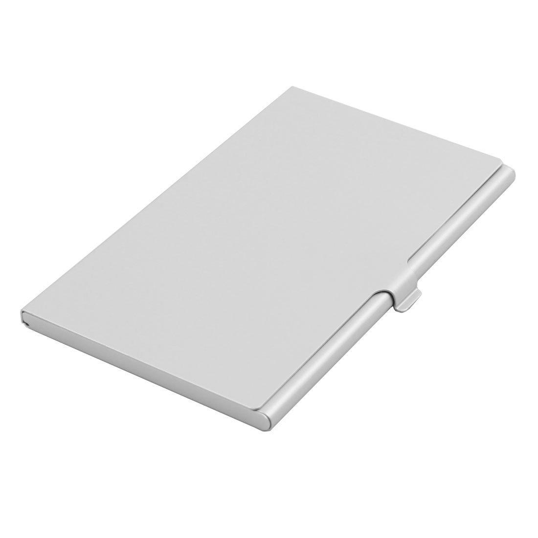 Amazon.com : DealMux liga de alumínio 7 Slots SIM Box cartão de armazenamento caso titular tom de prata para cartão de memória TF SD : Office Products
