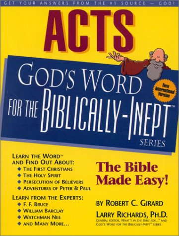 Read Online Acts: God's Word for the Biblically-Inept TM PDF
