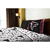 NFL Anthem Atlanta Falcons Bedding Sheet Set: Twin