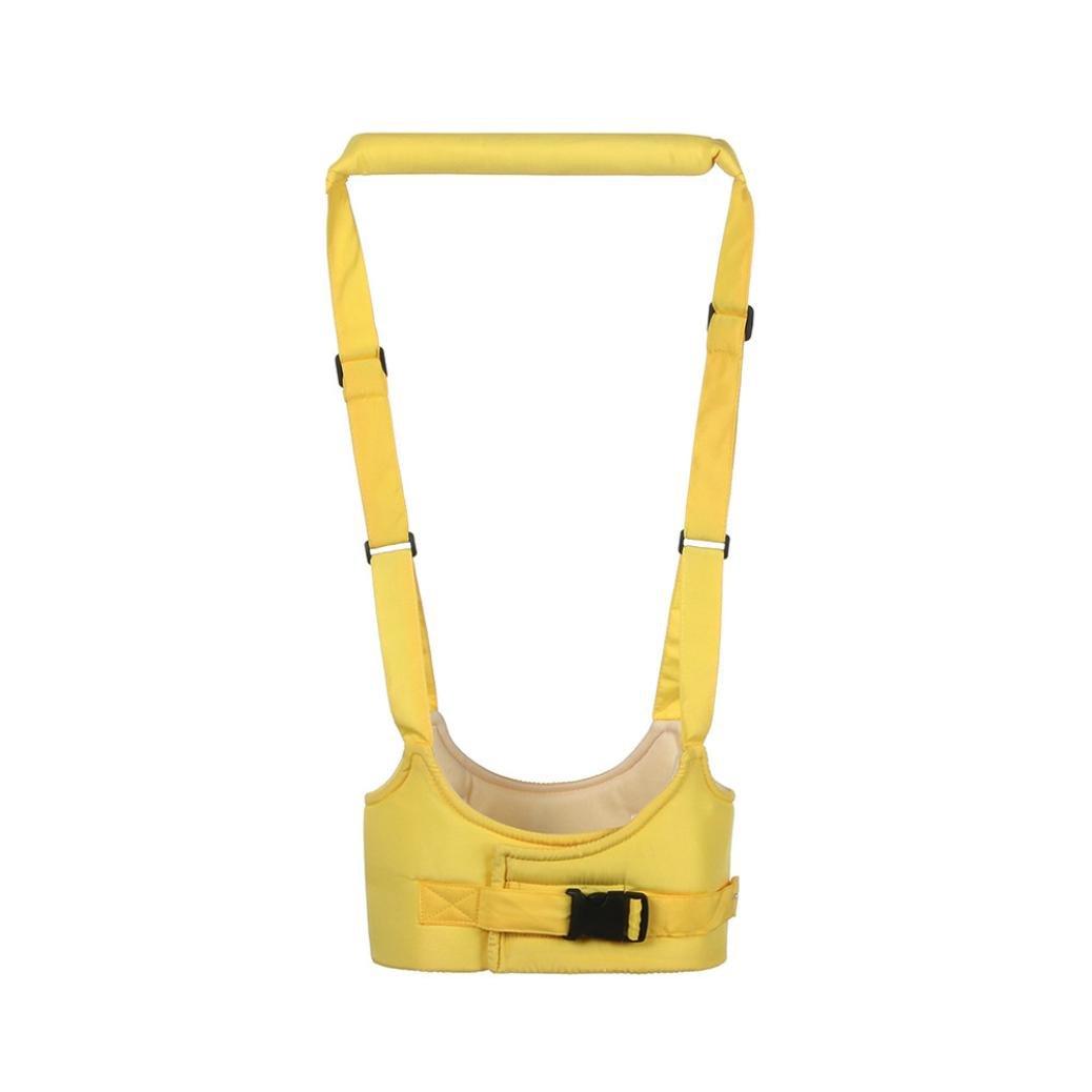Amarillo STRIR Seguridad Beb/és Caminando Alas,Arn/és para Caminar con Forma de Cesto Aprendizaje Walk Helper para Ni/ños Peque/ños