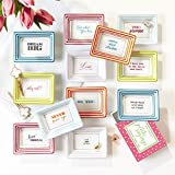 Two's Company 51360 Set of 12 Petite Wise Saying Trays