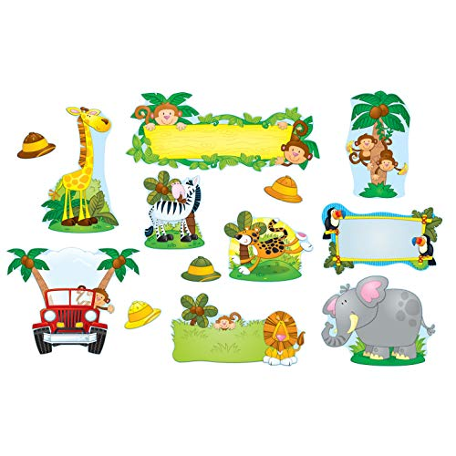 Carson-Dellosa Jungle Safari Bulletin Board Set ()