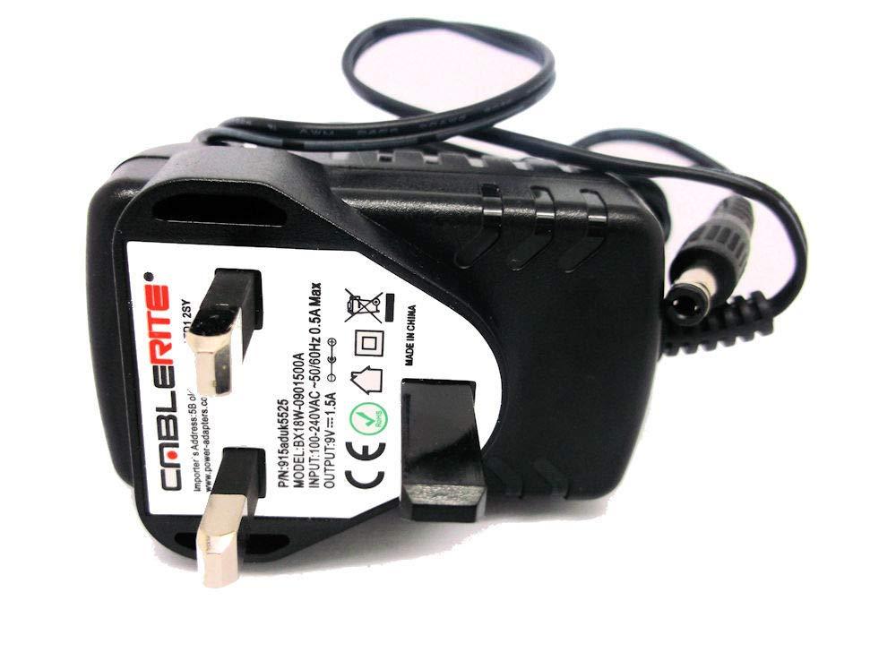 Reebok C5.1e Cross Trainer Uk 9v uk mains power supply adapter plug