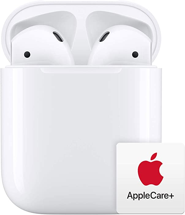 Apple AirPods with Charging Case with AppleCare+ Bundle