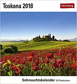 Toskana Kalender 2018 Sehnsuchtskalender 53 Postkarten Amazon De Bucher