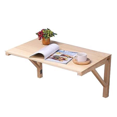 HUYYA Mesa de Pared Plegable, Mesa para Comer Escritorio Mesa para ...