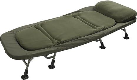 Silla/cama totalmente plegable, amplia, para ir de pesca, de TF Gear: Amazon.es: Deportes y aire libre