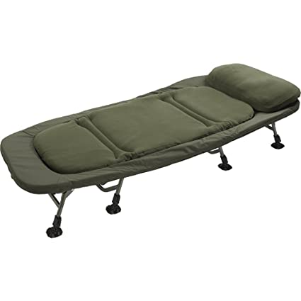89fcbbc2d71 Image Unavailable. Image not available for. Colour  TF Gear Flat Out Super  King Size Wide Bed Chair Ex Demo Carp Fishing Bedchair