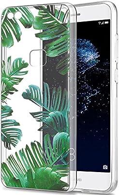Eouine Huawei P10 Caso Lite, Ultra delgado del patrón TPU de ...