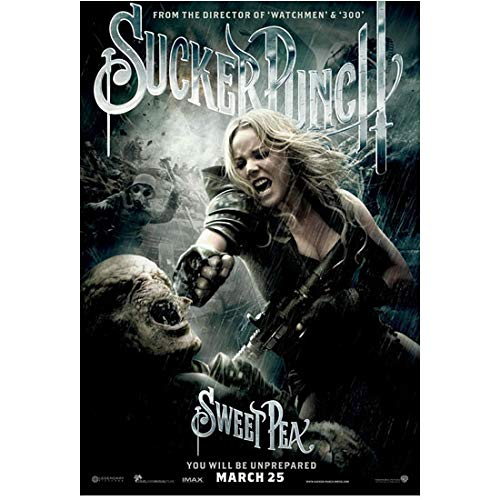Sucker Punch Abbie Cornish as Sweet Pea punching warrior demon promo 8 x 10 Inch Photo