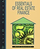Essentials of Real Estate Finance, Sirota, David, 0793127688