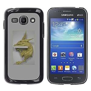 Ihec Tech Conejo Prueba Estatua de Arte Moderno Figura Animal / Funda Case back Cover guard / for Samsung Galaxy Ace 3