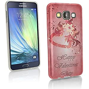 Collection 40, Custom Samsung A8Hard Back Case Cover Skin Cartera Flip Shell, silicona, Happy Valentines 10011, Gel
