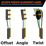 Johnson Level 40-6210 GreenBrite Magnetic Sheave