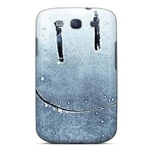 New Fashion Premium Tpu Case Cover For Galaxy S3 - Smile
