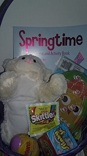 Easter Basket Stuffers Activity & Coloring Book Bundle For G