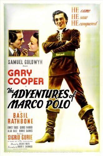 De las aventuras Marco Polo Póster de la película (- 27 x 101,6 cm ...