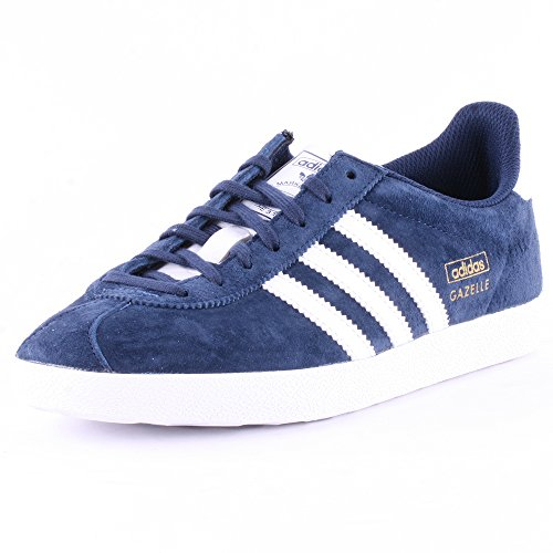 Adidas Gazelle OG Sneakers, Unisex Adulto Blue White