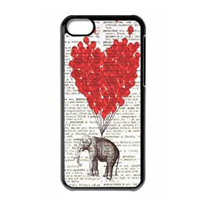 Elephant on Dictionary ZLB522615 Brand New Case for Iphone 5C, Iphone 5C Case