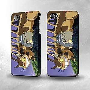 Apple iPhone 4 / 4S Case - The Best 3D Full Wrap iPhone Case - Catbus My Neighbor Totoro