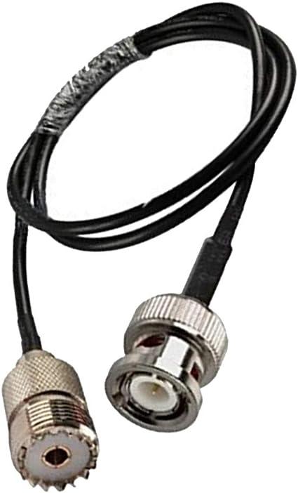 heacker Digital UHF RF Radio VHF Cable de Antena coaxial BNC ...