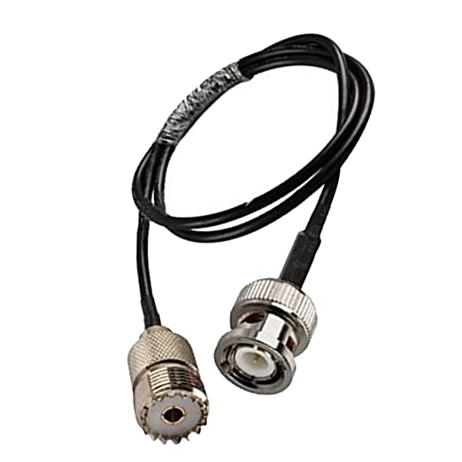 heacker Digital UHF RF Radio VHF Cable de Antena coaxial BNC Macho ...