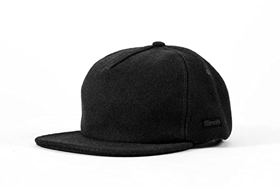 14348c665 Filipacchi Vintage Style Wool Baseball Cap (Black) at Amazon Men's ...