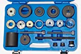 Koch Tools KT20377 BMW Master Trailing Arm Bushing Tool Set - E36 / E46 Rear Suspension 1990-2007 3-Series E36 E46 - NEW and OLD Bushing Styles