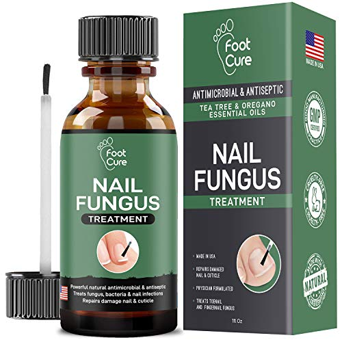 - Extra Strong Finger & Toenail Fungus Treatment| Organic & USA Made Nail Fungus Treat-Ment| Cure Athlete's Foot & Infected Nails with Our Fungus Treatment| Best Antiseptic Toe Nail Fungus Treatment