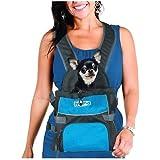Kyjen Outward Hound Front Carrier Backpack Medium BLUE