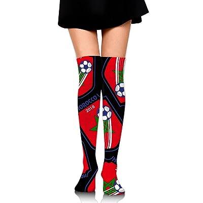 2018 Football Morocco Lover Unisex Novelty High Knee Socks Leggings Boot Socks