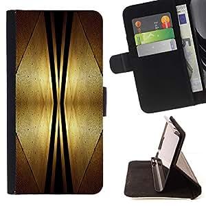 Momo Phone Case / Flip Funda de Cuero Case Cover - Espacio Dise?o Art Deco de interiores Estilo Futursim - LG Nexus 5 D820 D821