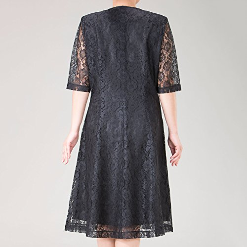 [エレガンスファッション] Elegance fashion フォーマル レース ワンピース ミセス レディース 結婚式 パーティ エレガント 日本製