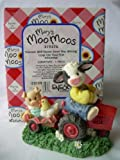Mary's Moo Moos Friends Will Never Steer You Wrong Cow on Tractor Figurine Figurine 1997 319376