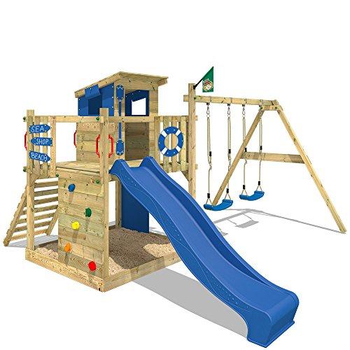 WICKEY Parque infantil Smart Camp Juegos de jardin Torre del juego ...