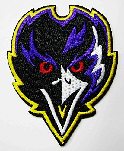 NFL Baltimore Ravens Embroidered Patch Looking 3